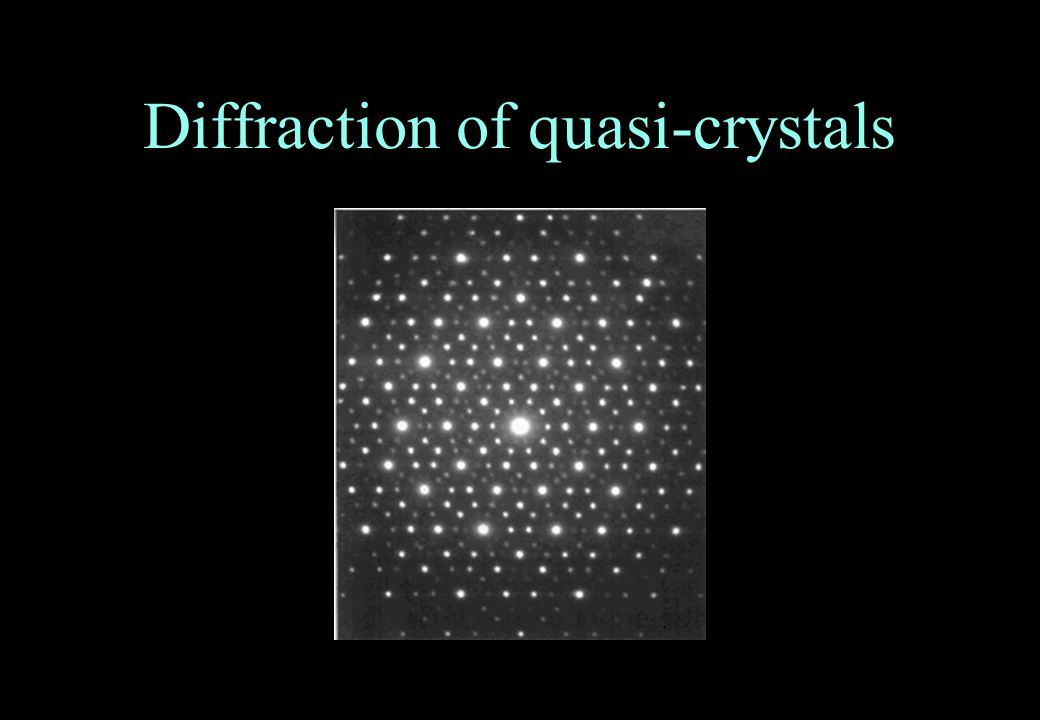 Diffraction of quasi-crystals