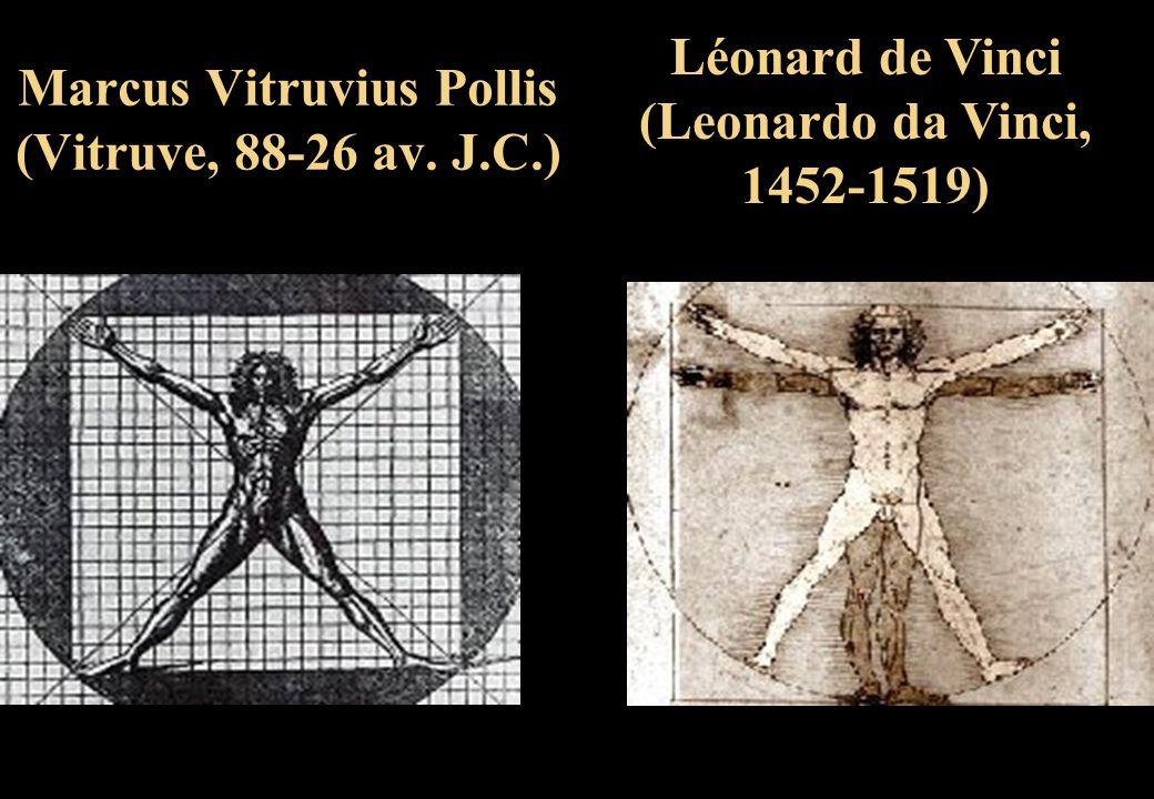 Marcus Vitruvius Pollis (Vitruve, 88-26 av. J.C.)