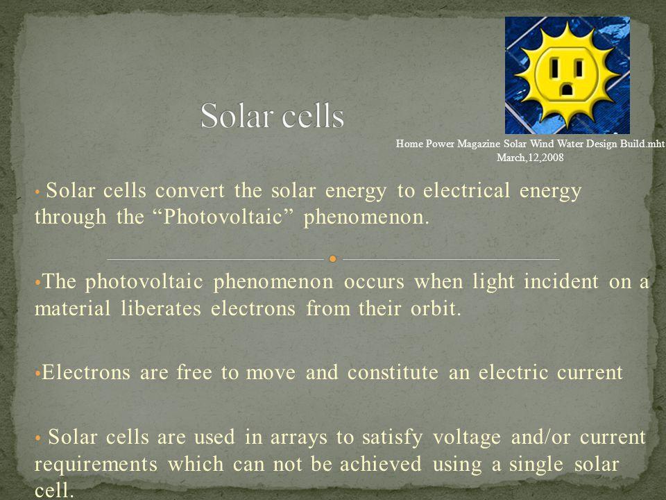 Home Power Magazine Solar Wind Water Design Build.mht