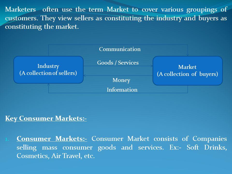 Key Consumer Markets:-