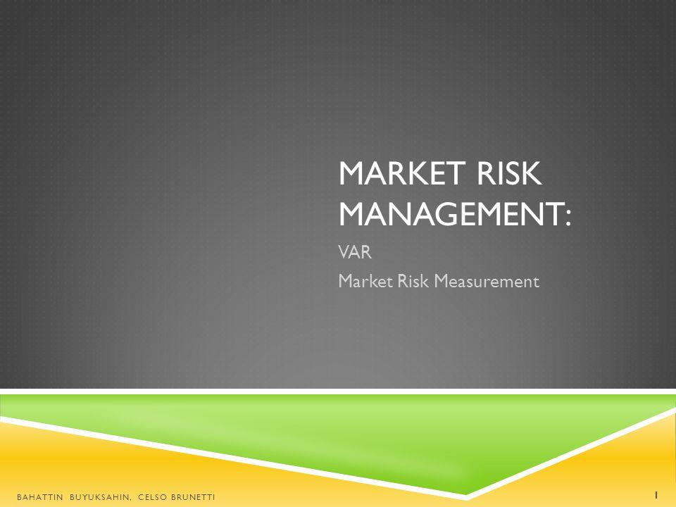 Market Risk Management: