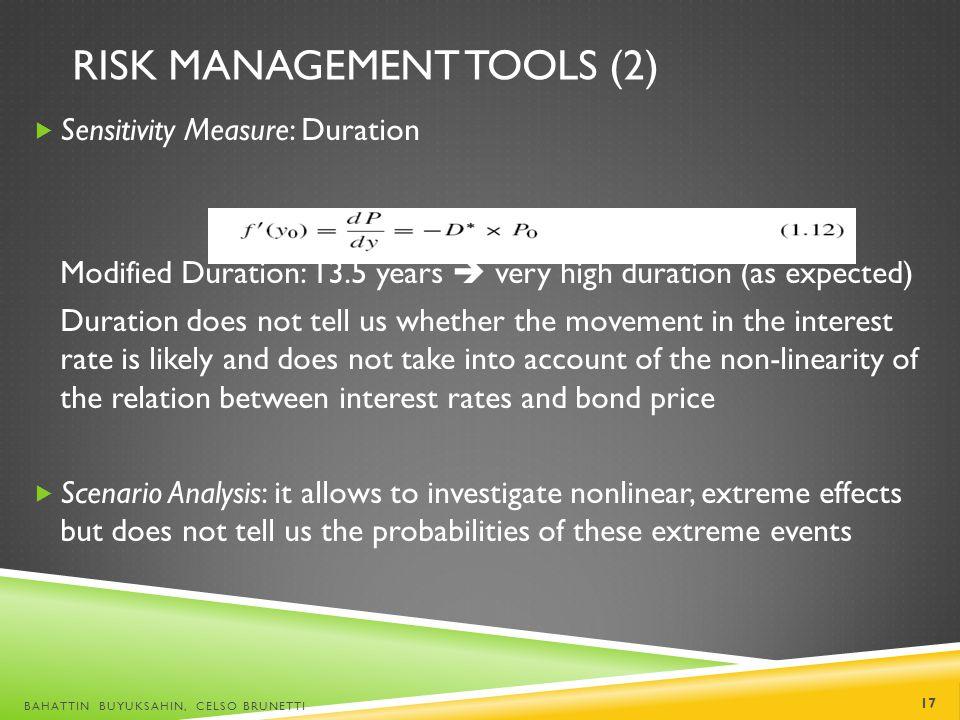 Risk Management Tools (2)