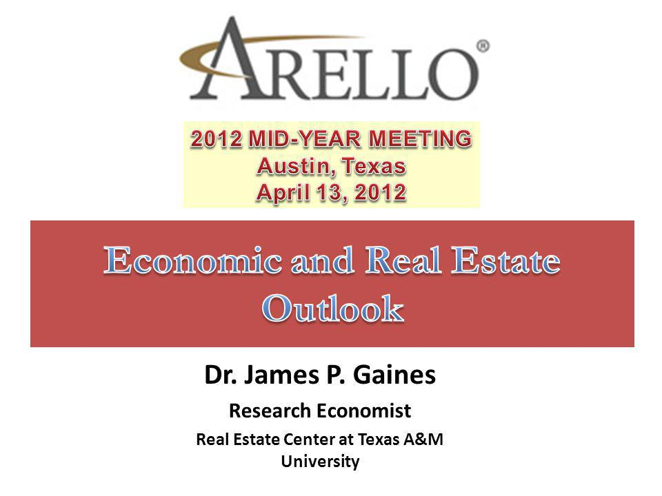 Economic and Real Estate Outlook
