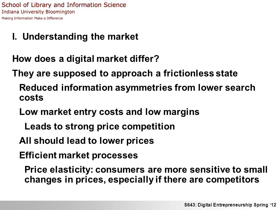 I. Understanding the market