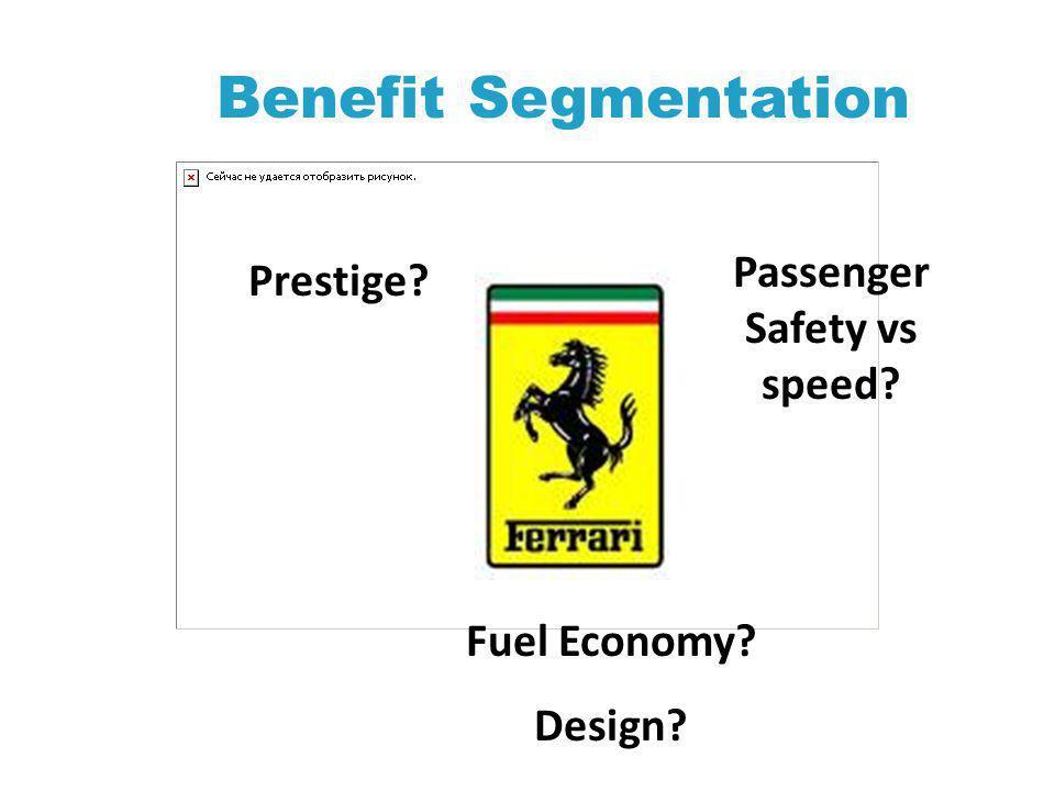 Passenger Safety vs speed