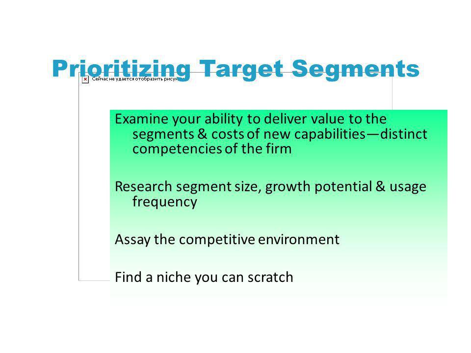 Prioritizing Target Segments
