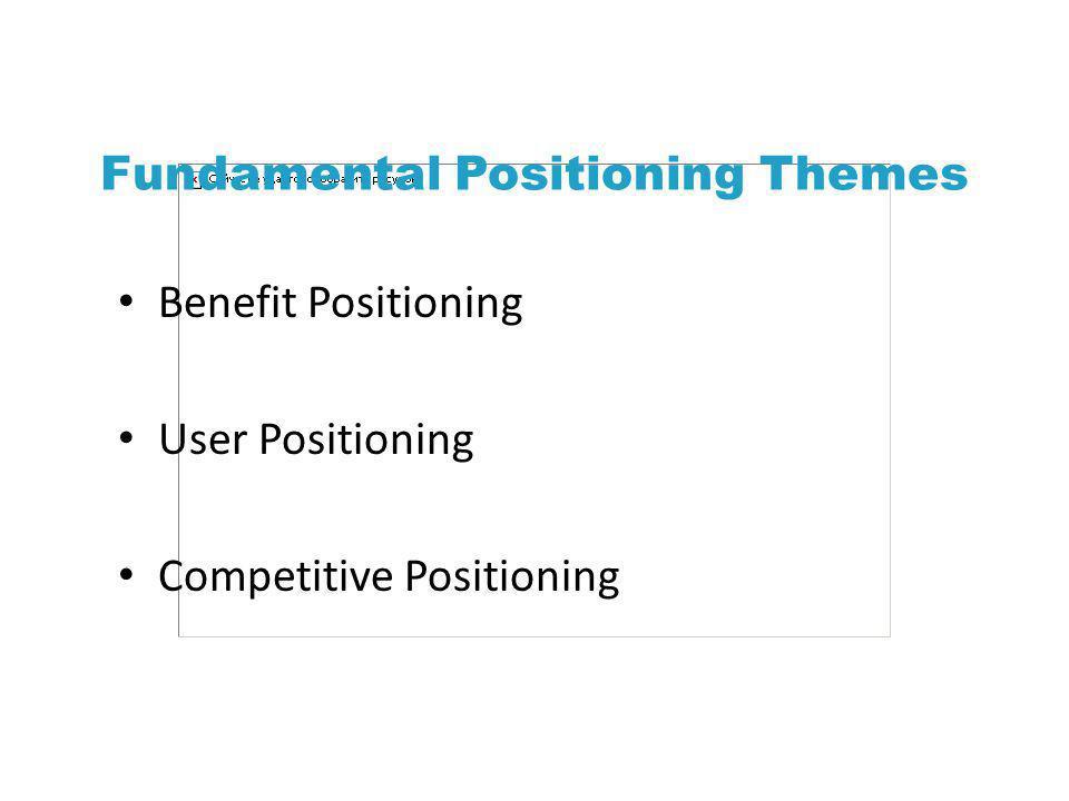 Fundamental Positioning Themes