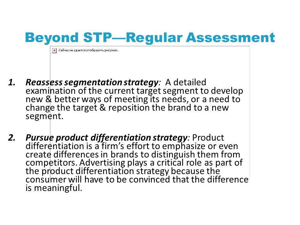 Beyond STP—Regular Assessment