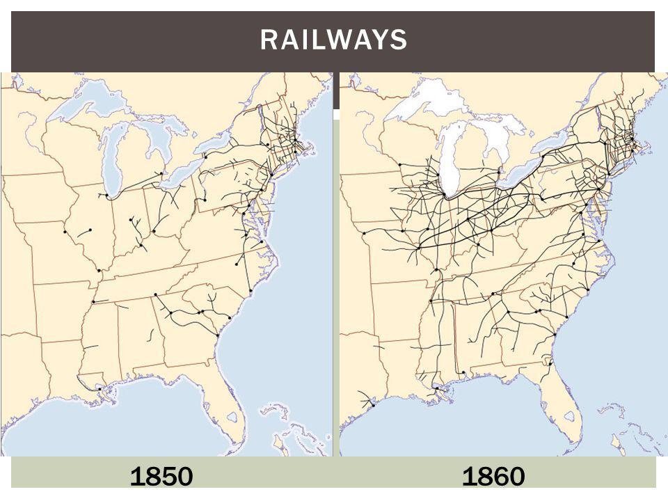 Railways 1850 1860