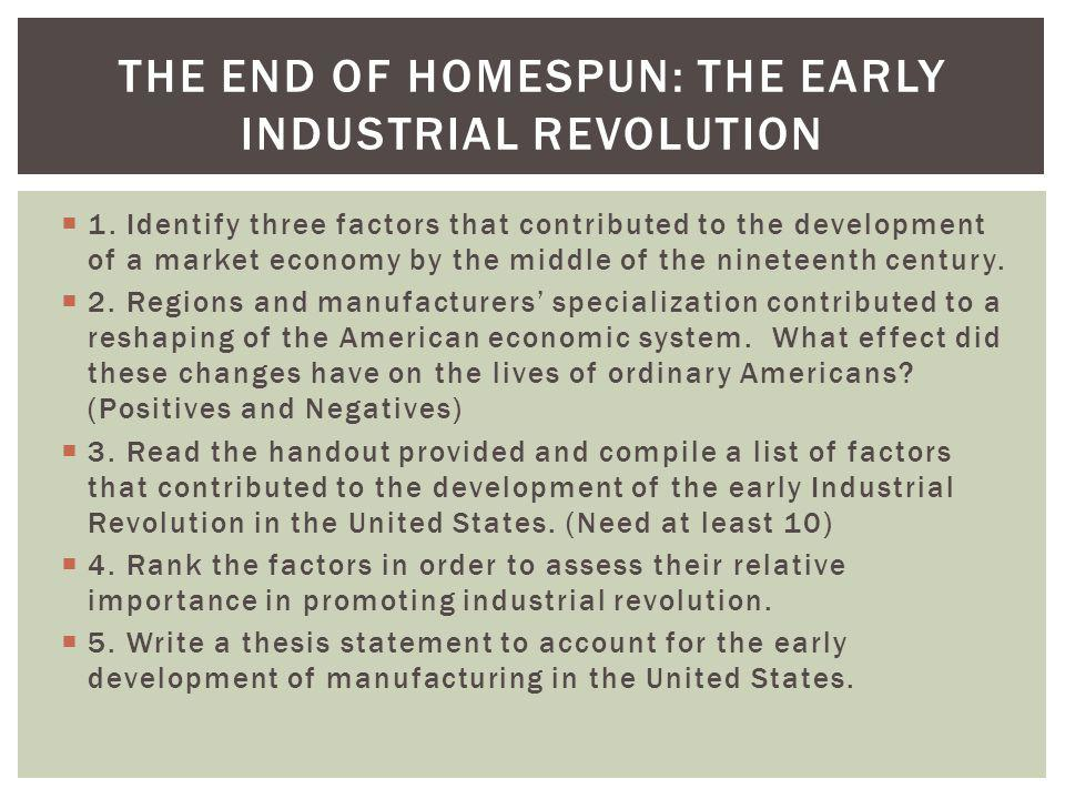 social economical and industrial changes in 19th century in the united states The second industrial revolution occurred in the us beginning in the  form of  transit for both people and goods for the rest of the 19th century  the industrial  revolution change american social, economic & political life.