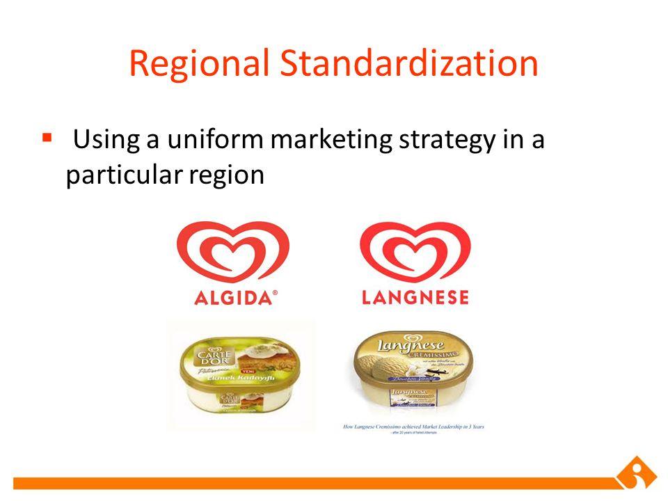 Regional Standardization
