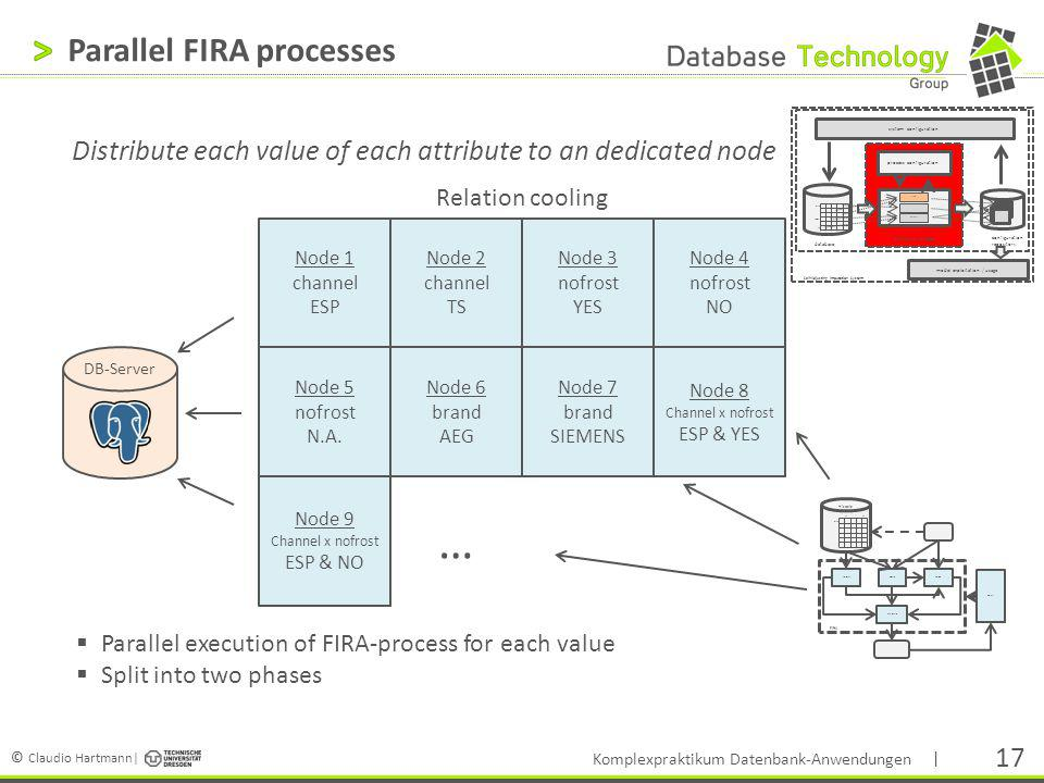 Parallel FIRA processes