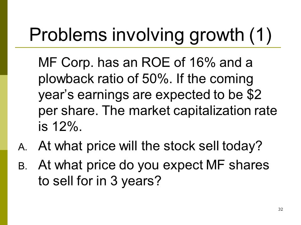 Problems involving growth (1)