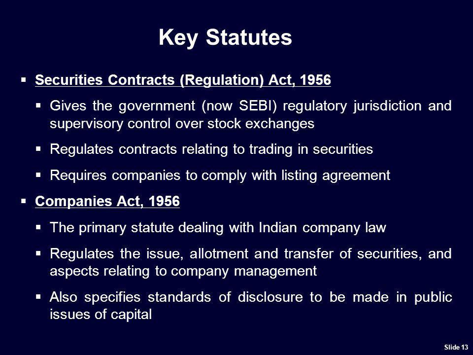 Other Statutes Prevention of Money Laundering Act, 2002