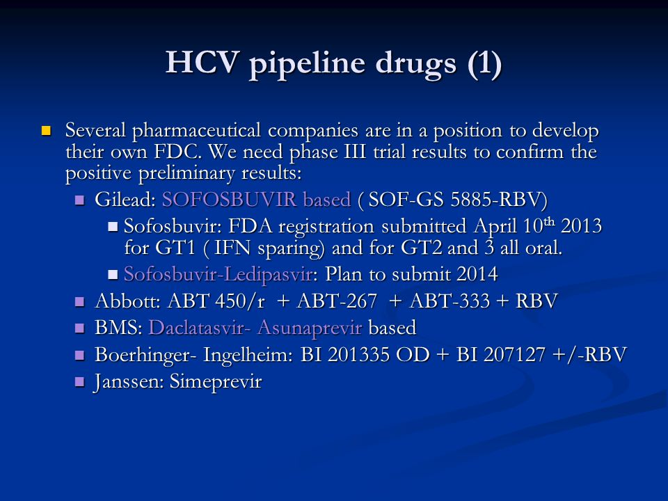 HCV pipeline drugs (1)