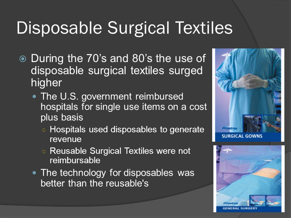 Disposable Surgical Textiles