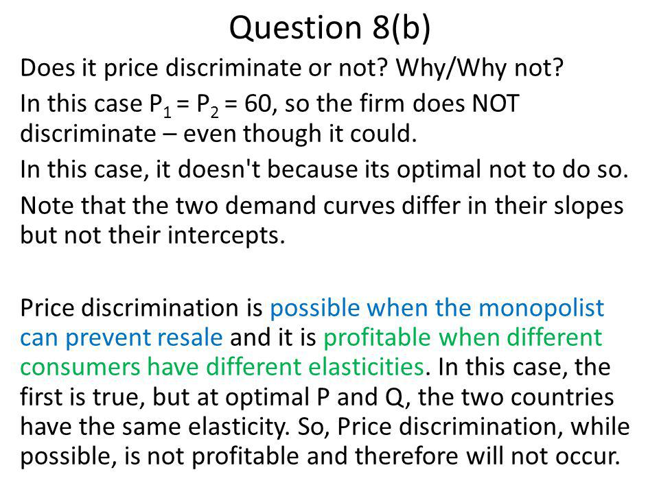 Question 8(b)