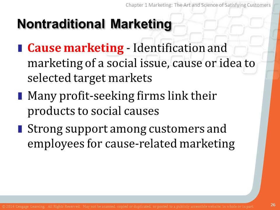 Nontraditional Marketing