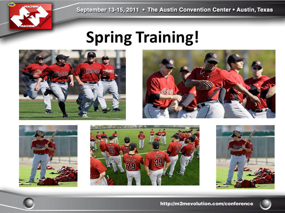 Spring Training!