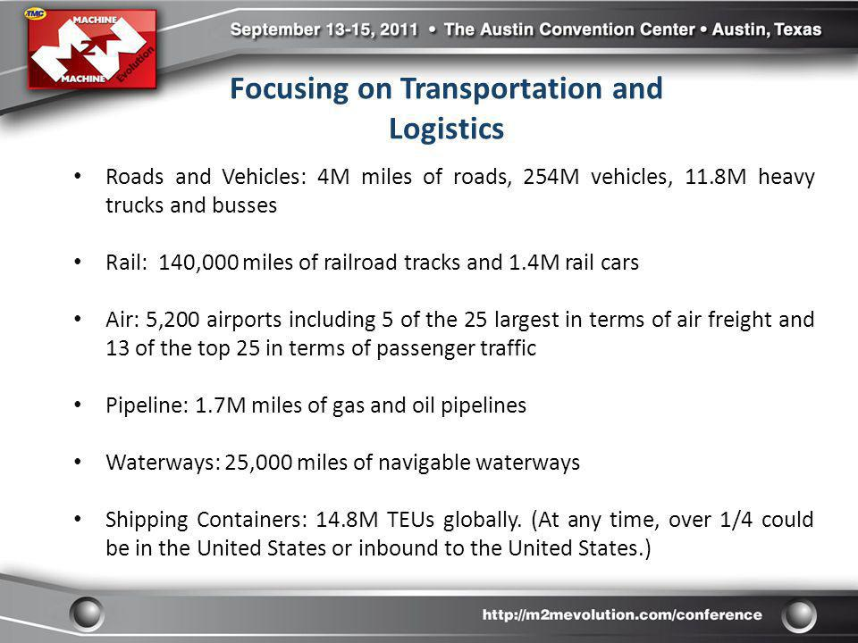 Focusing on Transportation and Logistics