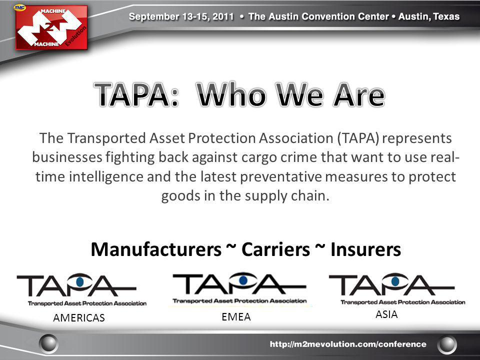 Manufacturers ~ Carriers ~ Insurers