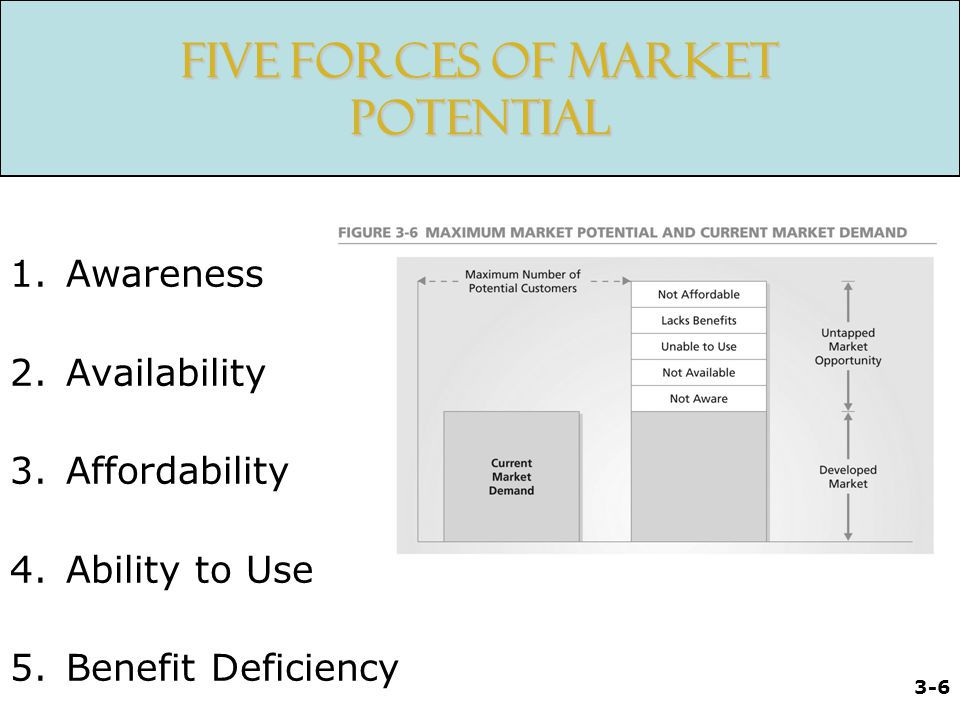 Five Forces of Market Potential