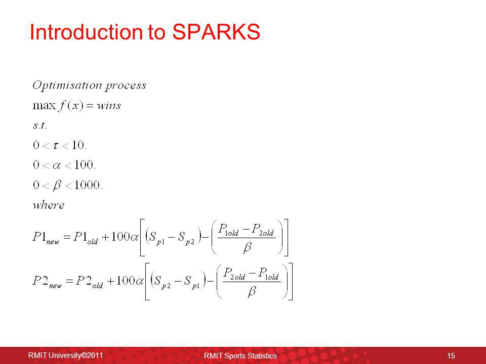 Introduction to SPARKS