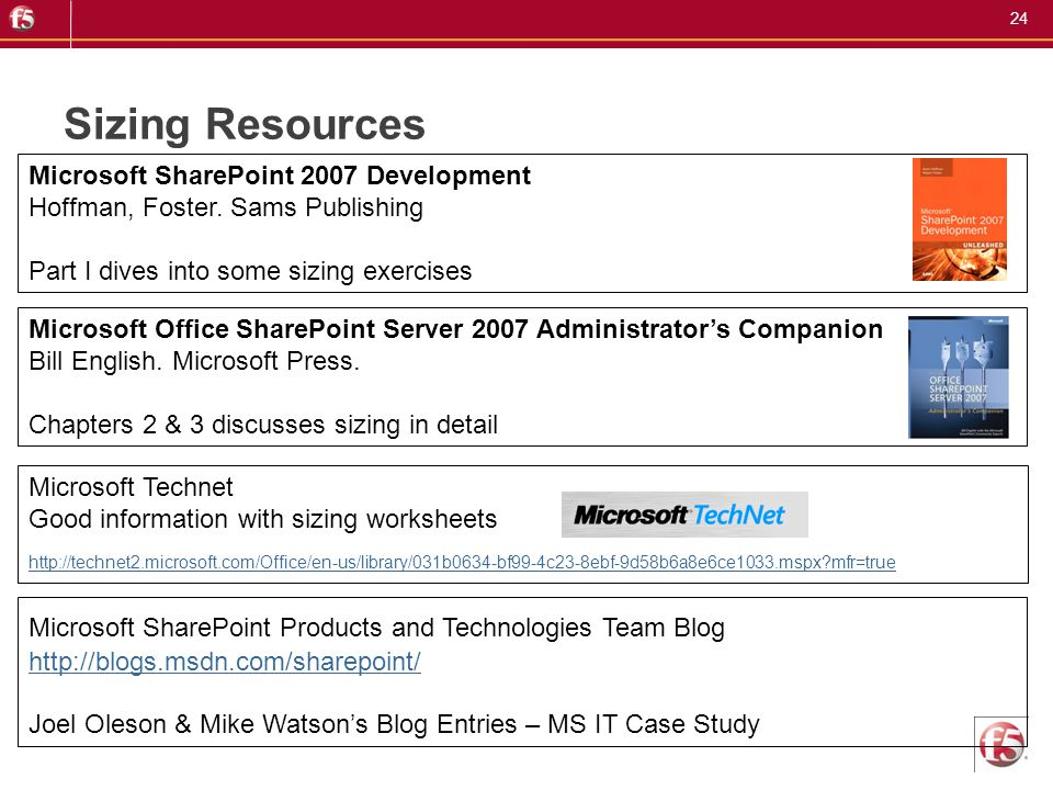 Sizing Resources Microsoft SharePoint 2007 Development