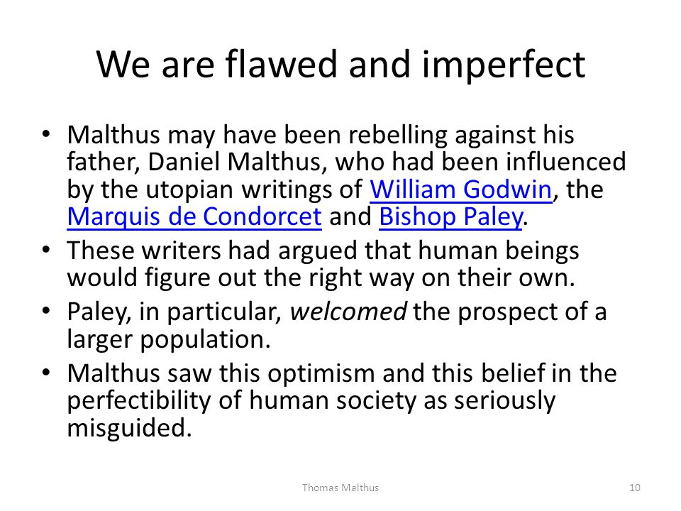 We are flawed and imperfect