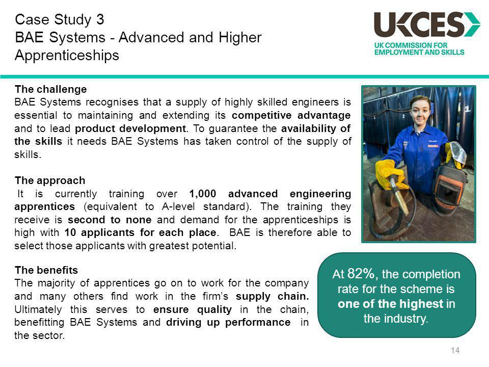 Case Study 3 BAE Systems - Advanced and Higher Apprenticeships