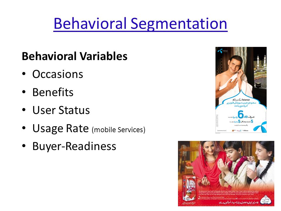 Behavioral Segmentation