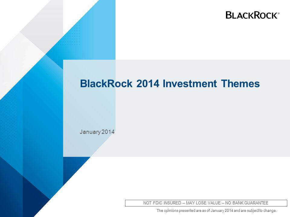 BlackRock 2014 Investment Themes