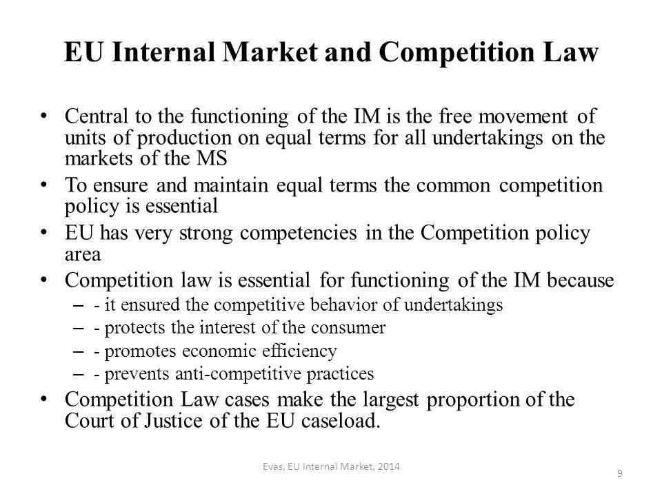EU Internal Market and Competition Law