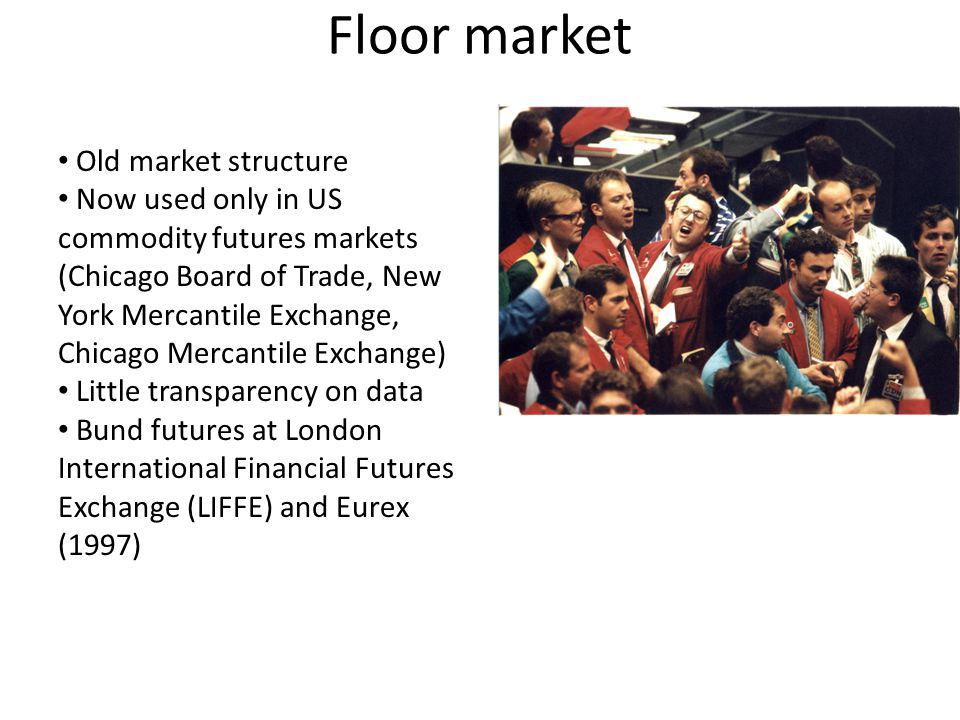 Floor market Old market structure