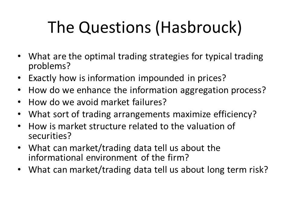 The Questions (Hasbrouck)