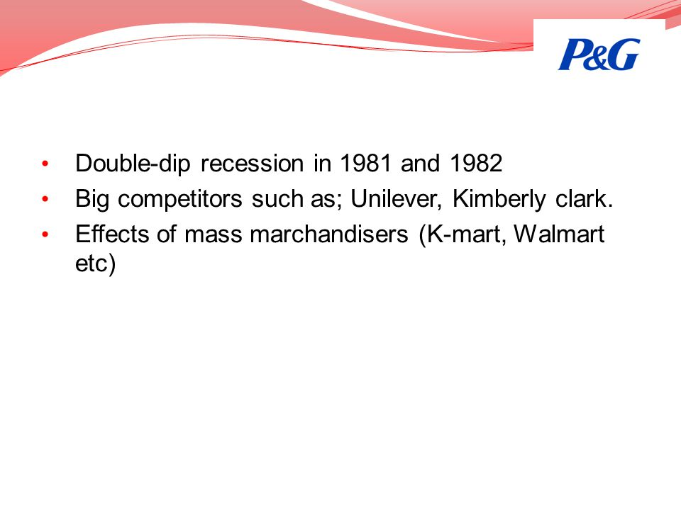 Double-dip recession in 1981 and 1982