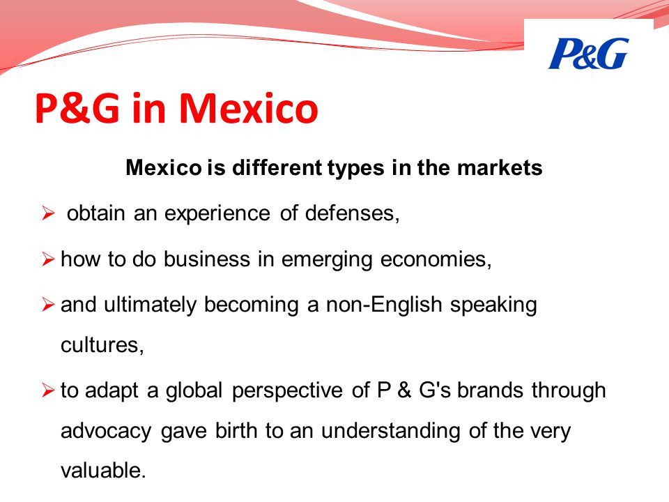 Mexico is different types in the markets