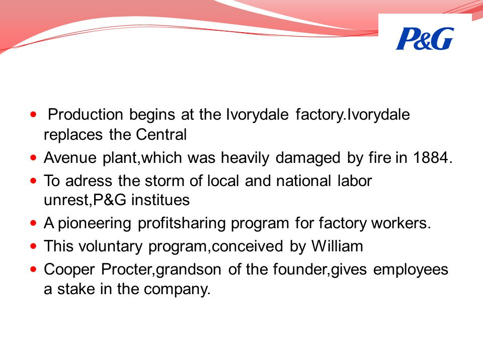 Production begins at the Ivorydale factory
