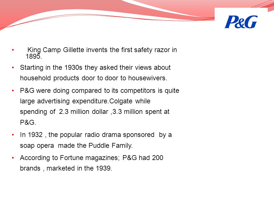 King Camp Gillette invents the first safety razor in 1895.