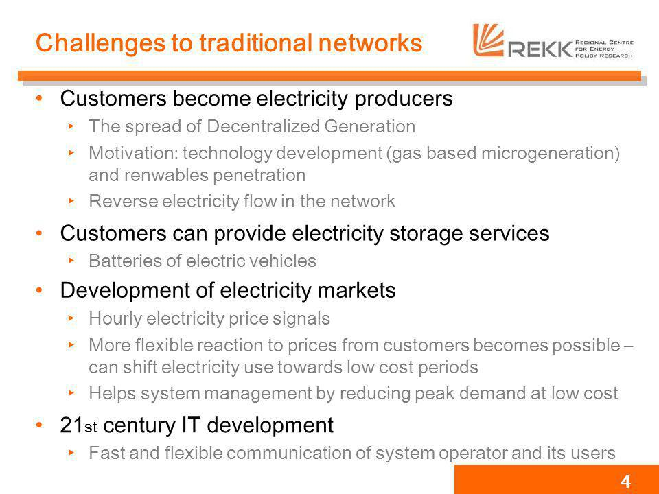 Challenges to traditional networks