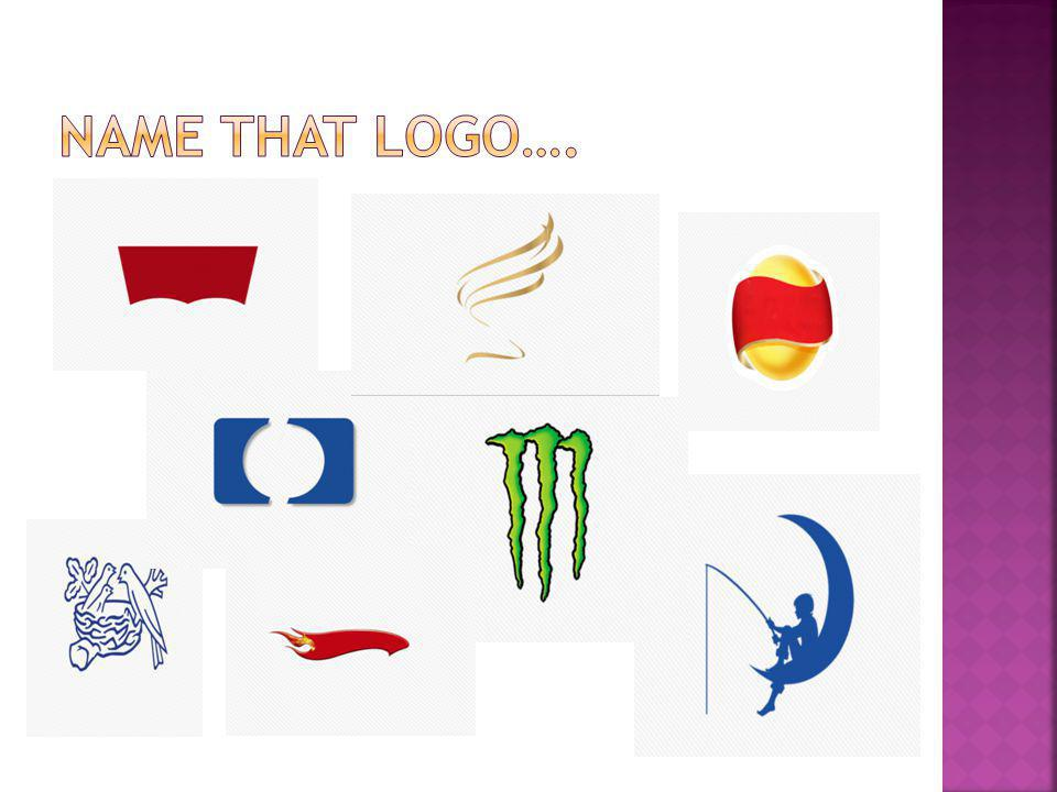 Name that logo….