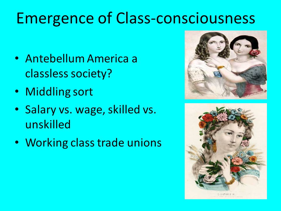 Emergence of Class-consciousness