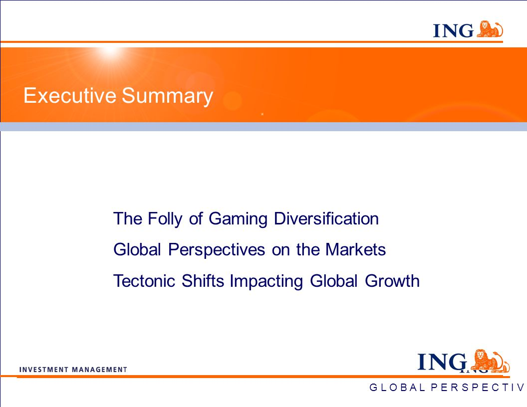 ING Global Perspectives