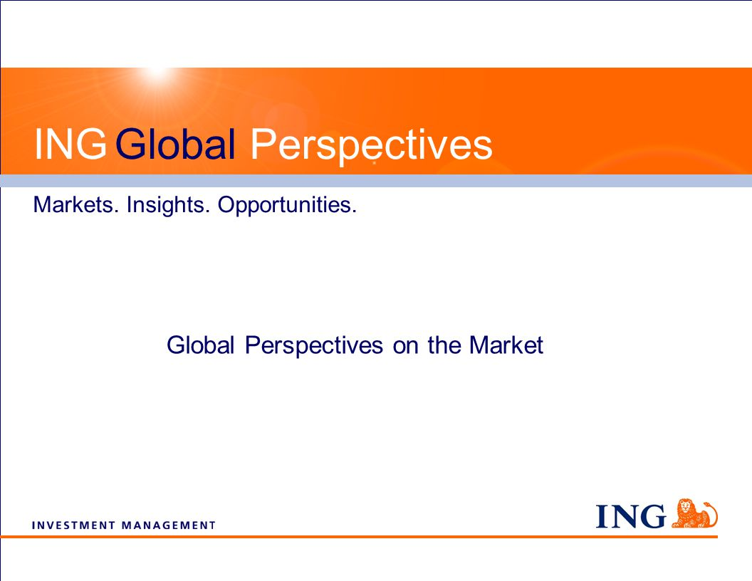Global Perspectives on the Markets