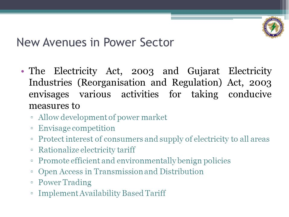 New Avenues in Power Sector
