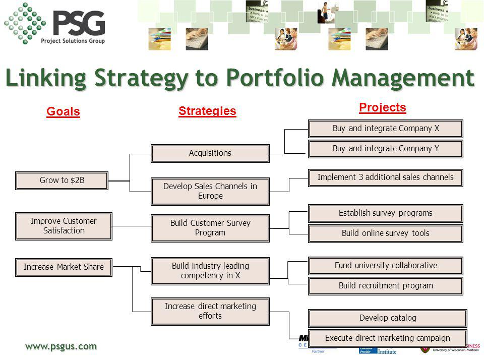 Linking Strategy to Portfolio Management