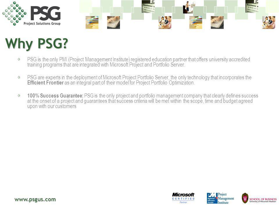 Why PSG