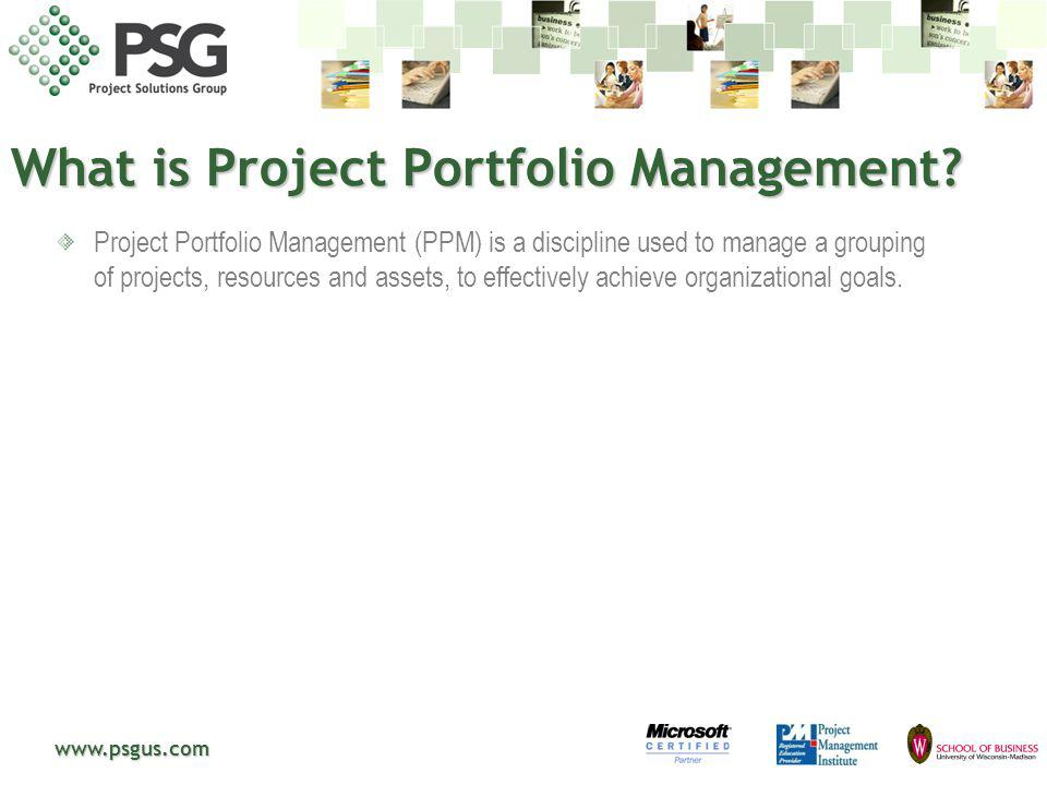 What is Project Portfolio Management