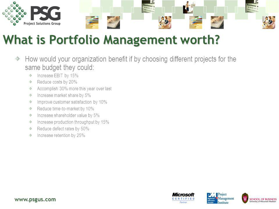 What is Portfolio Management worth