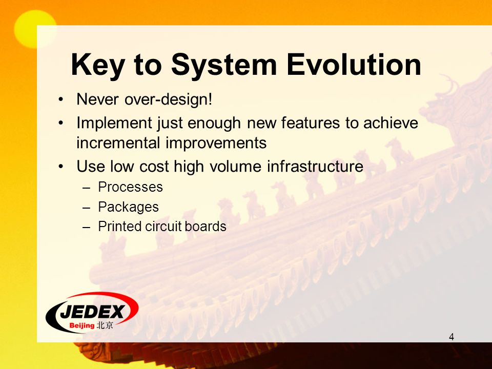 Key to System Evolution